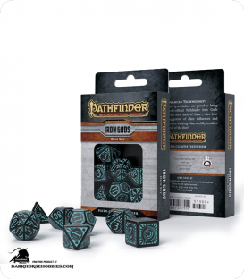 Pathfinder: Iron Gods Polyhedral Dice Set