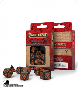 Pathfinder: Hell's Vengeance Polyhedral Dice Set