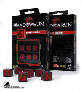 Shadowrun: Street Samurai Dice Set