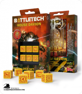 Battletech House Davion D6 Dice Set