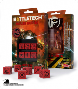 Battletech House Kurita D6 Dice Set