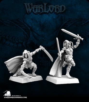 Warlord: Blade Sisters - Shadow Sisters Adept Box Set