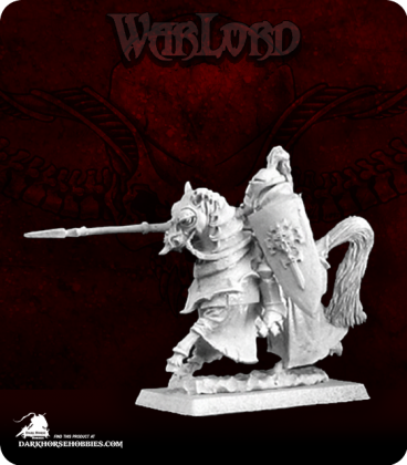 Warlord: Overlords - Vincente, Mtd Onyx Chevalier Captain