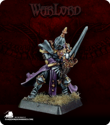 Warlord: Overlords - Andras the Ruthless, Captain (painted by Anne Foerster)
