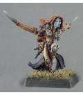 Warlord: Overlords - Moraia, Warbride Hero (painted by Anne Foerster)
