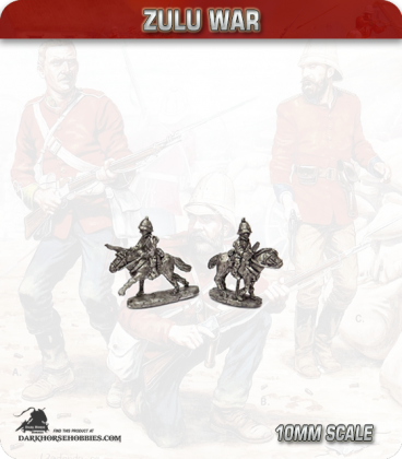 10mm Zulu War: British Cavalry, Natal/Durban mounted