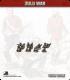 10mm Zulu War: Zulu Warriors (without head dress)