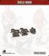 10mm Zulu War: British Limber with 4 Horse Team