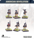 10mm American Revolution: Early continentals, march attack (painted by Andy Mac)