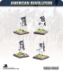 10mm American Revolution: Continentals in Hunting Shirts - Marching