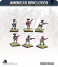10mm American Revolution: Militia - Firing Line (painted by Andy Mac)