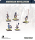 10mm American Revolution: Continental Command in Coats - Marching