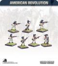 10mm American Revolution: Continentals in Hunting Shirts - Firing Line (painted by Andy Mac)