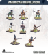 10mm American Revolution: Riflemen with Command