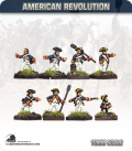 10mm American Revolution: Artillery Crews (painted by Andy Mac)