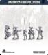 10mm American Revolution: Continental Cmd in 1779 Regulation Uniform - Marching