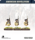 10mm American Revolution: Continentals in 1779 Regulation Uniform (Hunting Shirts) - Marching