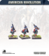 10mm American Revolution: British Highlander Centre Company in Kilts - Marching