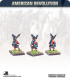 10mm American Revolution: British Highlander Grenadier in Kilts - Marching
