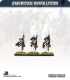 10mm American Revolution: Brunswick Musketeers - Marching