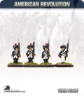 10mm American Revolution: Hessian Musketeers - Standing (painted by Andy Mac)