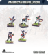 10mm American Revolution: British Grenadier Command - Charging