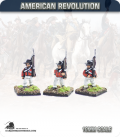 10mm American Revolution: British Roundabouts in Round Hats - Marching