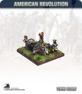 10mm American Revolution: 5.5in Howitzer Guns with British Crew (painted by Andy Mac)