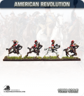 10mm American Revolution: British 16th Light Dragoons in Helmet (painted by Andy Mac)