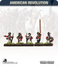 10mm American Revolution: British Saratoga Command - Standing (painted by Andy Mac)