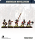 10mm American Revolution: British Cutdown Coats in Round Hats Command - Charging