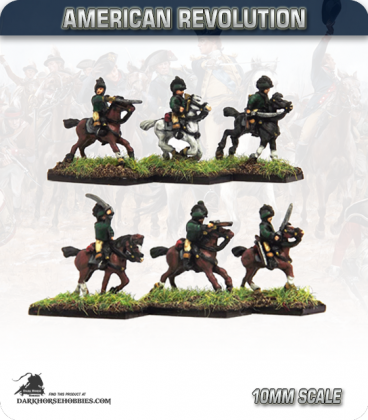 10mm American Revolution: British Legion Cavalry (painted by Andy Mac)