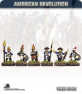 10mm American Revolution: Hessian Grenadier Command (painted by Andy Mac)