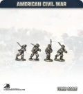 10mm American Civil War: Confederate Foot - Marching (type 1)