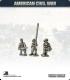 10mm American Civil War: Confederate Foot Command - Standing