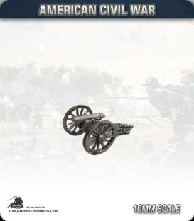 10mm American Civil War: 12lb Howitzers