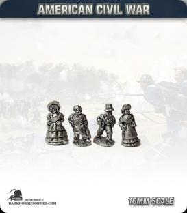 10mm American Civil War: Civilians