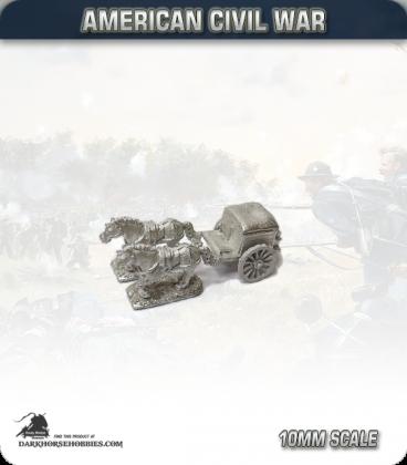 10mm American Civil War: Field Forge Wagons