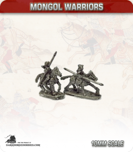 10mm Mongols: Light Cavalry with Spear and Bow