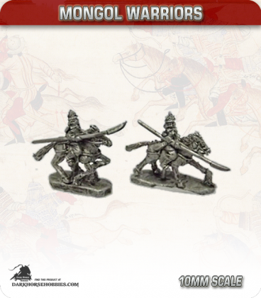 10mm Mongols: Keshik Bodyguard