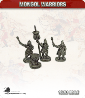 10mm Mongols: Dismounted Command