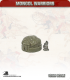 10mm Mongols: Small Yurts