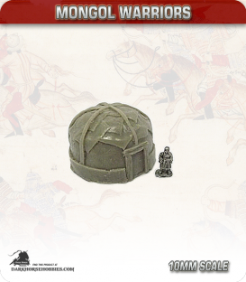10mm Mongols: Medium Yurts