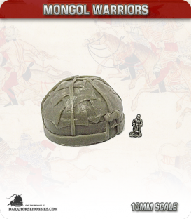 10mm Mongols: Large Yurt