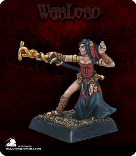 Warlord: Mercenaries - Gars Necka, Mage (painted by Anne Foerster)