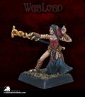 Warlord: Mercenaries - Gars Necka, Mage (painted by Anne Foerster)