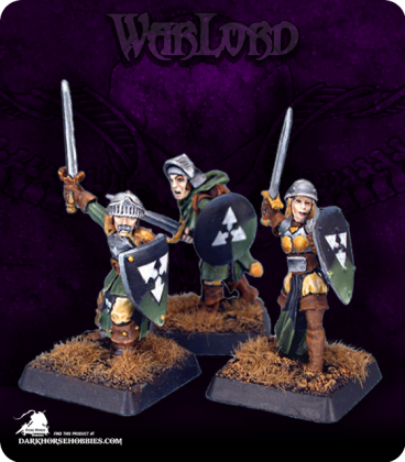 Warlord: Mercenaries - Mercenary Warriors Grunt Box Set (painted by JB)