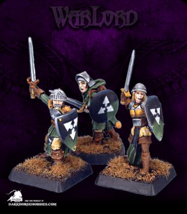 Warlord: Mercenaries - Mercenary Warriors Grunt Box Set (painted by JB)