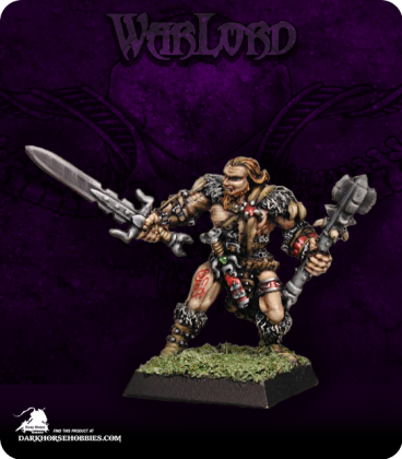 Warlord: Mercenaries - Grundor Hoardtaker, Sergeant (painted by Liliana Troy)