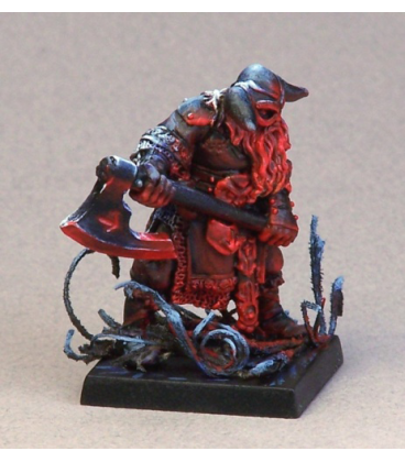 Warlord: Mercenaries - Sigurd, Sergeant (painted by Anne Cooper)